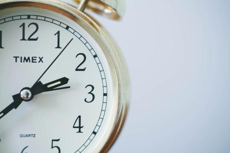 racionalizar los horarios de trabajo